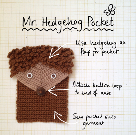 Hedgehog pocket