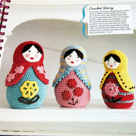 Mollie Makes Crochet Russian Dolls
