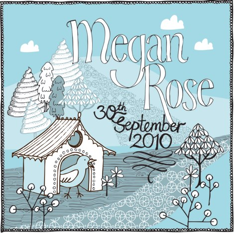 Megan's birth announcement
