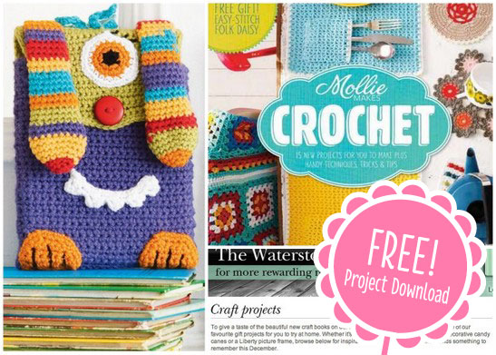 Crochet Stitches Book Free Download : Free Mollie Makes Crochet Kindle Cover Cara Medus