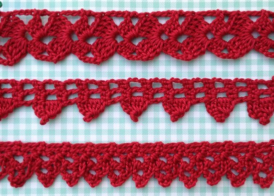 Crochet Edging : Crochet edgings the easy way Cara Medus
