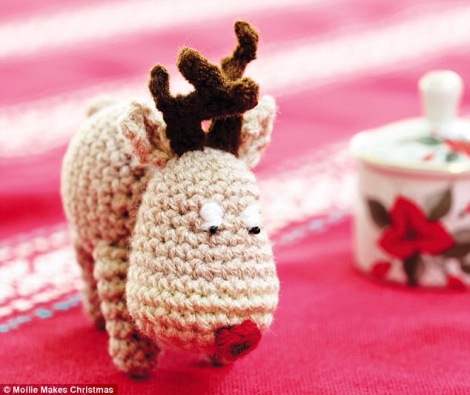 Crochet Reindeer from Mollie Makes Christmas Book