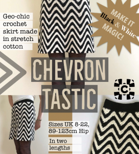 Chevron Tastic crochet skirt front page